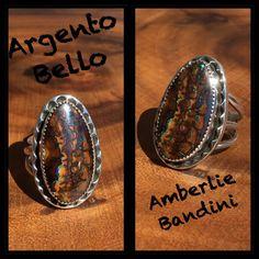 Argento Bello by Bandini. Boulder Opal set in Sterling.