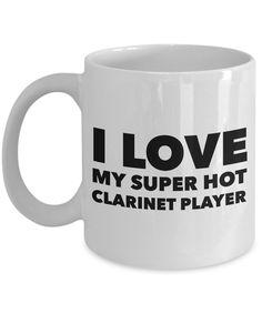 Occupational COffee Mug - I love my super hot clarinet player