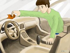 How to Make Your Car Smell Good. Cars are great for getting you from place to place, helping people move, and giving rides to friends and family. But if your car isn't clean and has a bad smell to it, nobody is going to want to ride with. Car Cleaning Hacks, Car Hacks, Cleaning Products, Car Smell, Oil Change, Car Detailing, Smell Good, Car Show, Make It Yourself