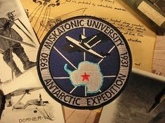 "Miskatonic University Patch ""Antarctic Expedition"" 1937"