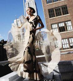 free shipping 2016 customized new Short-sleeve black lace applique bridal long design Red Carpet Designer Celebrity Dresses
