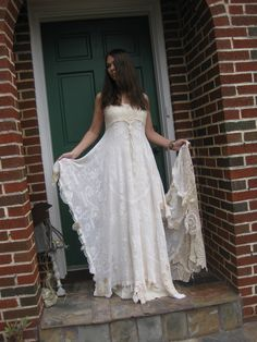 hippie wedding dresses | Weddingzilla: Alternative Wedding Dresses...oh my gosh I want this dress!!!!