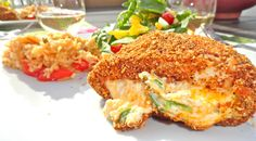Hatch Green Chile and Cheese Stuffed Chicken Breast Recipe