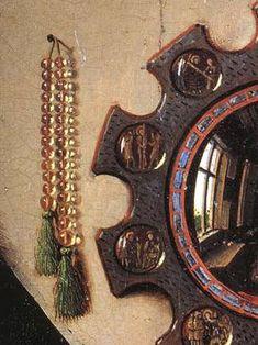 Details of the Arnolfini Portrait ° Jan van Eyck, National Gallery, London. Jan Van Eyck, The Arnolfini Portrait, Ghent Altarpiece, Art Ancien, Renaissance Artists, European Paintings, Classical Art, Detail Art, 15th Century