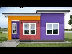 ARKIX3D - YouTube 2 Bedroom House Design, Small House Design, Outdoor Wall Lantern, Outdoor Walls, Outdoor Decor, Beautiful House Plans, Beautiful Homes, Create Floor Plan, Modern House Floor Plans