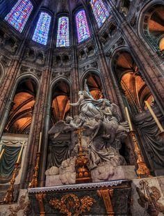 Cathédrale Notre-Dame de Chartres, Normandy, France