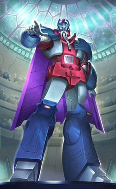 Autobot Leader Alpha Trion G1 Artwork From Transformers Legends Game