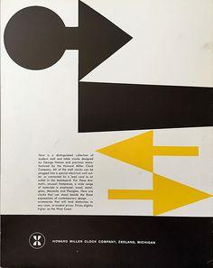 Great #midcentury #graphicdesign #howardmiller clocks George Nelson clocks
