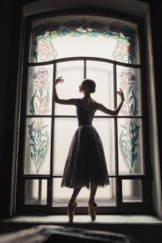 Russian photographer and ballerina Darian Volkova takes an innovative approach to exploring St. Petersburg's architecture with her new ballet photography series Ballet House Tales.    Each dancer melds into her surroundings, molding herself to the surfaces. Serpentine poses snake around spiral staircases and arms stretch to mirror the circular windows, while Volkova captures it all by framing her characters within the architectural elements.