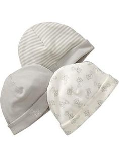 Just ordered for baby boy :) Little Bundles Beanie 3-Packs | Old Navy