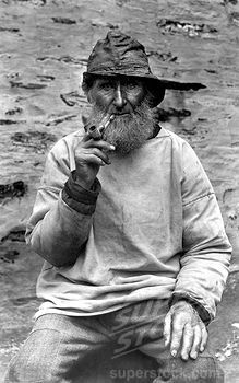 Reminds me of the old sailors mentioned in LM Montgomery books [Port Isaac, A Cornish Fisherman from Francis Frith]