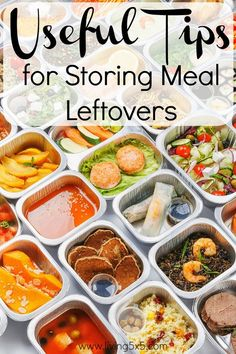 Need Useful Tips for Storing Meal Leftovers? Avoid waste in your home and save on your grocery bill.