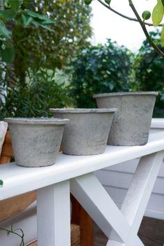 Woodville Forrest Pot S/3 - Rivièra Maison - Summer Collection - Tuin / Garden Pot