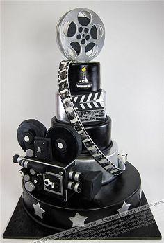 'Movie' Cake   --CaKeCaKeCaKe--