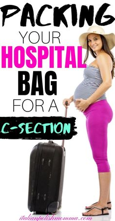 Are you having a scheduled c-section? Here is exactly what you will need to pack in your hospital bag for your scheduled c-section! C Section Workout, Breastfeeding After C Section, Scheduled C Section, Hospital Bag Checklist, Pregnancy Info, Pregnancy Belly, Pregnancy Care, Postpartum Care, Mom Advice