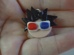 Doctor Who Charm 10th Doctor Polymer Clay David by laminartz