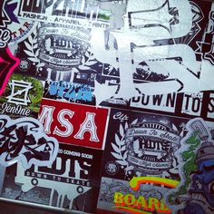 @royalstain's computer is #blasted #slaps! #stickers #streetware #superiorink