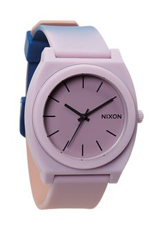 Nixon for Kate Spade Saturday Time Teller P - Smokey Lavender KSS | Nixon  Saving for a vacation but after that....I'm getting this baby here.