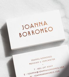 Modern business card template by emilys art boutique on design by julia kostreva reheart Image collections