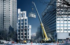 Take A Look At New York's New Smallest Apartment  The city today unveiled the winner of a contest to design livable tiny apartments to expand studio-scale housing in the Big Apple.