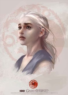GAME OF THRONES :Daenerys Targaryen by Scottshi.deviantart.com on @deviantART