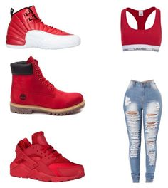 """"""""""" by nasza100 ❤ liked on Polyvore featuring Timberland, Calvin Klein and !iT Collective"""