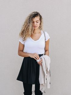 9 Outfits to Copy if You Want to Dress Like a Model - MY CHIC OBSESSION Autumn Fashion Casual, Fall Fashion Outfits, Casual Fall Outfits, Simple Outfits, Chic Outfits, Casual Dresses, Fashion Wear, Clothing Hacks, Chic Clothing