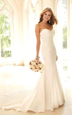 Elegant wedding dress. Disregard the bridegroom, for the moment lets concentrate on the bride whom considers the wedding ceremony as the greatest day of her lifetime. With this simple fact, then it is definite that the wedding garment really needs to be the best.