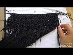 TUTORIAL Cartera a macrame parte 2 Handbag part 2 /2 - YouTube