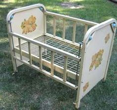 1000 Images About Vintage Baby Cribs On Pinterest