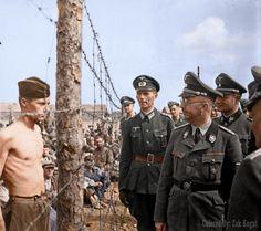 Soviet Soldier Defying Heinrich Himmler