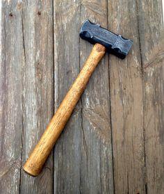 2.9 pound decorated rounding hammer