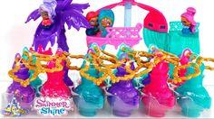 Shimmer y Shine Teenie Genies Set de Playa y 15 Lámparas Sorpresa de Shi...