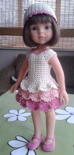 Комплект для куклы Паола Рейна, 32 см