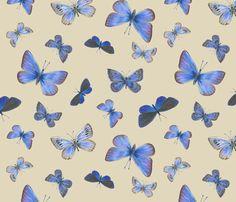 blues on the air fabric by weavingmajor on Spoonflower - custom fabric