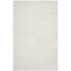 Safavieh Hand-woven Saint Tropez Snow White Polyester Rug (5' x 8') - 15968901 - Overstock.com Shopping - Great Deals on Safavieh 5x8 - 6x9 Rugs