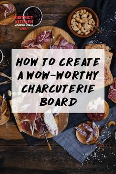 Chef Alexandra shares her favourite tips and tricks to creating a wow-worthy charcuterie board. How To Cook Liver, Charcuterie Board, Cooking, Tips, Recipes, Food, Kitchen, Recipies, Essen