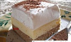 Vanilkové řezy se šlehačkou a kaštanovým pyré