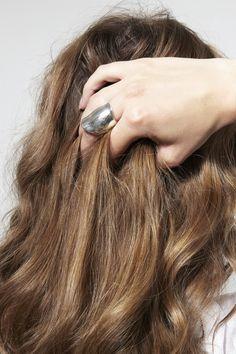 SOPHIE BUHAI, Wave Ring, Silver |