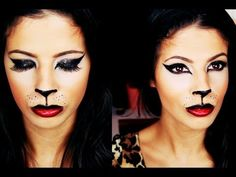 cat // tutorial (because lalee wants to be a kitty for haloween)