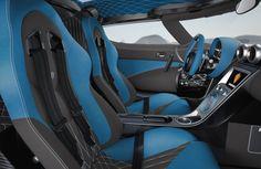 Koenigsegg 2013 Agera R - Special Edition Blue Interior