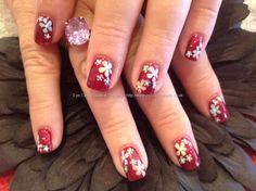 15 Inspiring Spring Flower Nail Art Designs,Trends & Ideas 2013 For Girls | Girlshue