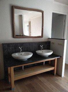 badkamer kommen op houten blad - Google zoeken   Vanities ...