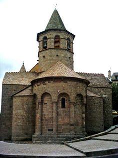 Église Sainte Marie de Nasbinals, Lozère,France