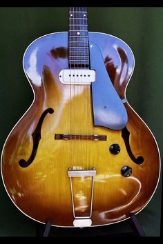 Vintage Guild – any info appreciated Pinned Feb 2015 Jazz Guitar, Guitar Strings, Music Guitar, Cool Guitar, Playing Guitar, Archtop Guitar, Fender Guitars, Guild Guitars, Semi Acoustic Guitar