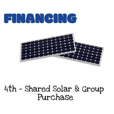 What is Shared Solar? Many homes are not suited for solar due to shading structure and ownership issues. According to NREL only 22 to 27% of residential rooftop area is a good fit for solar panels.[2]With shared solar everyone have the opportunity to go solar. Shared solar can be both community- or third-party-owned. The finances can be structured in several ways. In most cases the homeowner subscribes to shared solar and receive energy bill credits accordingly.  What is a Group Purchase?…