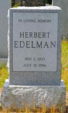 """Herb Edelman (1933 - 1996) Played Dorothy's ex-husband, Stanley, on the TV series """"The Golden Girls"""", made numerous TV appearances, including several on """"Love, American Style"""""""