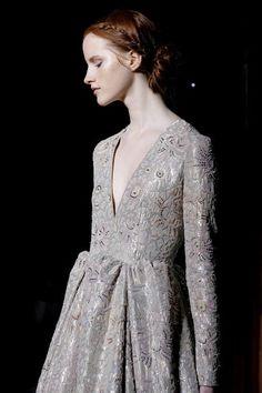 Magdalena Jasek at Valentino Couture Spring 2013