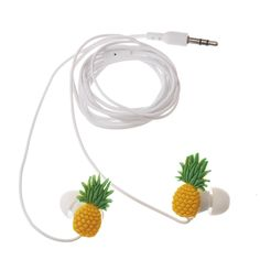 Pineapple Earphones