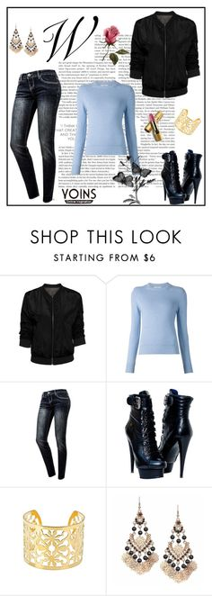 """""""Yoins"""" by milica-b3 ❤ liked on Polyvore featuring Barrie, Paolo Shoes, Avon and yoins"""